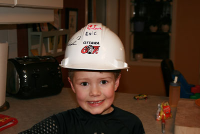 Best Passer Hard Hat!!