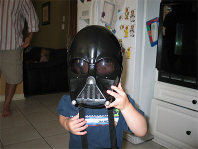 Darth Carter Strikes Again At His Party!