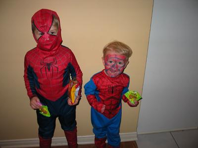 Cute Spidermen!