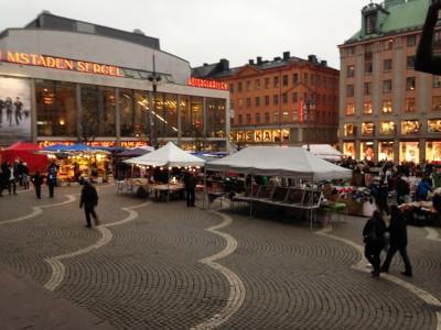 Hötorget Market Square