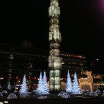 Sergels Torg at night